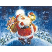 LANG® Jolly Santa Boxed Christmas Cards