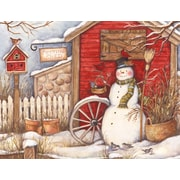 LANG® Winter Barn Boxed Christmas Cards