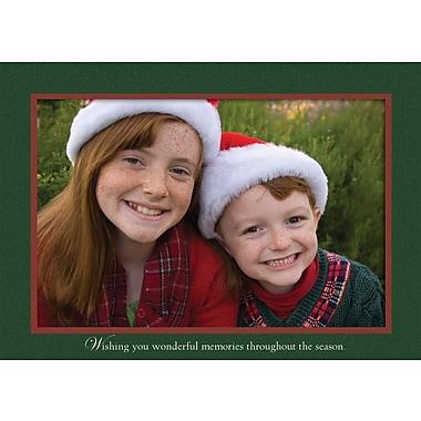 LANG® Holiday Sleigh Ride Boxed Photo Christmas Cards