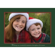 LANG® Holiday Sleigh Ride Boxed Photo Christmas Cards