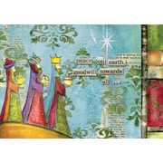 LANG® Artisan Peace On Earth Petite Christmas Cards