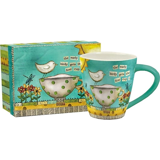 LANG® Artisian Color My World 14 oz. Cafe Mug