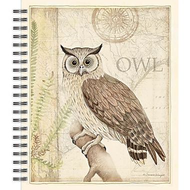 Lang 4006027 Sanctuary Owl Spiral Bound Hard Cover Sketchbook