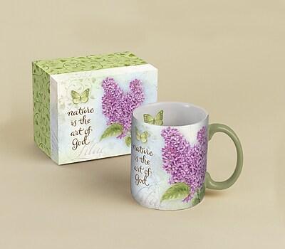 LANG® Botanical Inspiration Lilac 14 oz. Coffee Mug
