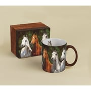 LANG® Horses in the Mist Heads Up 14 oz. Coffee Mug