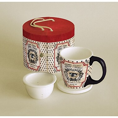 LANG® Wisdom Brewed Here 11 oz. Tea Mug Set