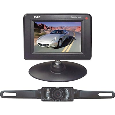"""""Pyle PLCM34WIR 3 1/2"""""""" Monitor Wireless Back-Up Rearview and Night Vision Camera System"""""" IM1CL3952"
