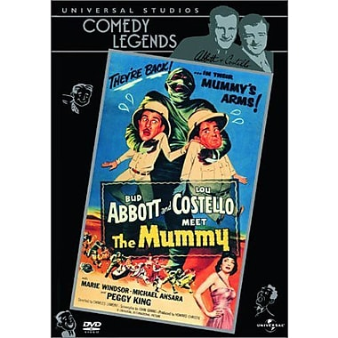 Abbott and Costello Meet The Mummy (DVD)