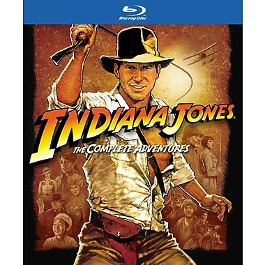 Indiana Jones The Complete Adventures (BLU-RAY DISC)