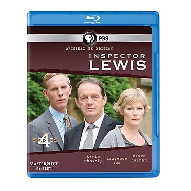 Inspector Lewis: Series 4 (DISQUE BLU-RAY)