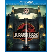Jurassic Park 3D (3D BRD + BRD + DVD + Digital Copy)