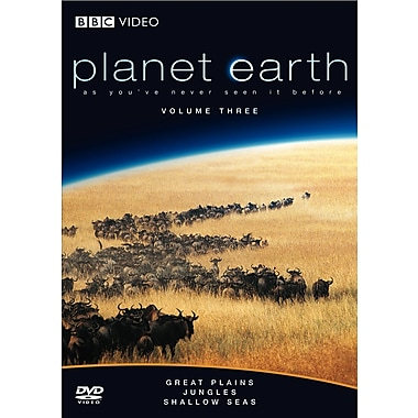 Planet Earth: Great Plains/Jungles/Shallow Seas (DVD)