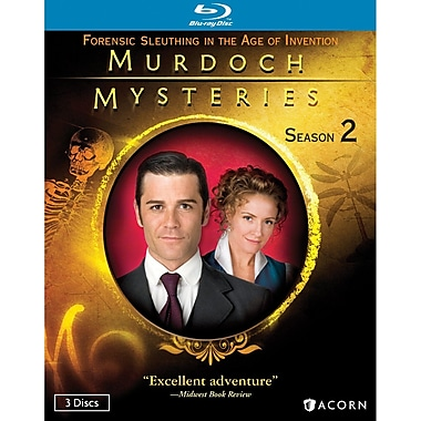 Murdoch Mysteries Season 2 (DISQUE BLU-RAY)