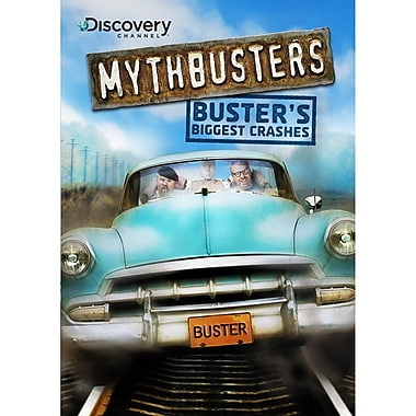 Mythbusters - Buster's Biggest Crashes (DVD)