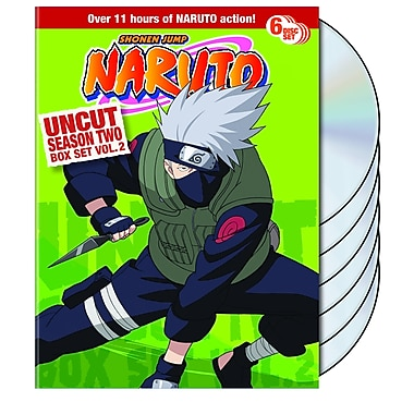 Naruto: Season Two, Volume 2 (DVD)