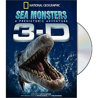Sea Monsters 3-D (DVD)