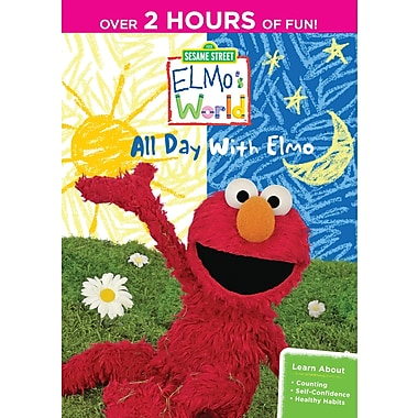 Sesame Street Elmo's World: A Day with Elmo (DVD)