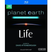 Life: Narrated by David Attenborough and Planet Earth (DISQUE BLU-RAY)