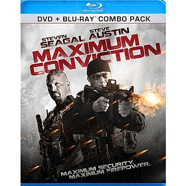 Maximum Conviction (BRD + DVD)