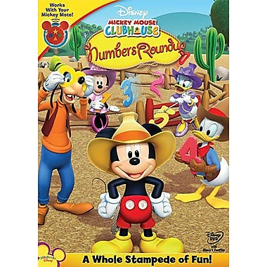 Mickey's Numbers Roundup (DVD)