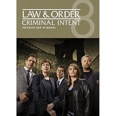 Law & Order - Criminal Intent - Eighth Year (DVD)
