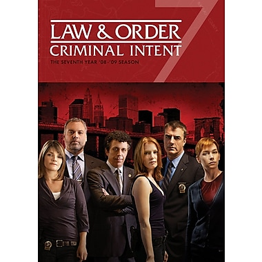 Law & Order Criminal Intent Seventh Year (DVD)