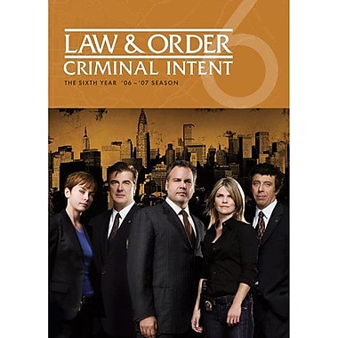 Law & Order: Criminal Intent Season 6 (DVD)