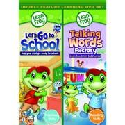 Leapfrog: Let's Go To School/Talking Words Factory (DVD)