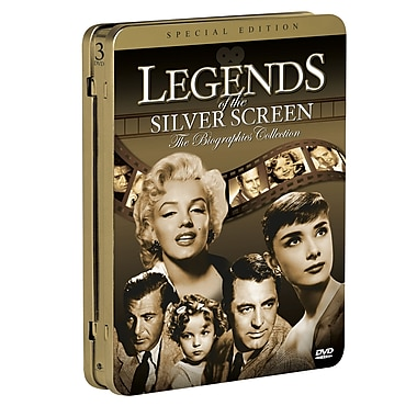 Legends of the Silver Screen: The Biographies Collection (DVD) 2011