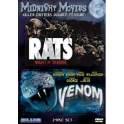 Midnight Movies - Volume 10 - Killer Critters Double Feature (Rats - Night Of Terror/Venom) (DVD)