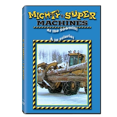 Mighty Machines: At The Saw Mill! (DVD)