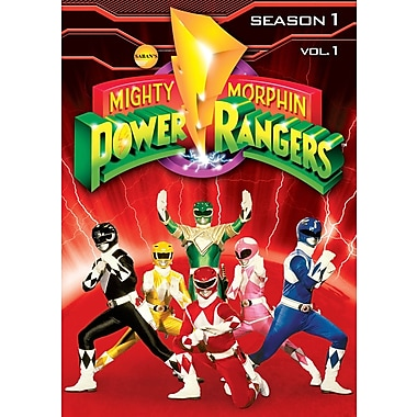 Mighty Morphin Power Rangers - Season 1 - Volume 1 (DVD)