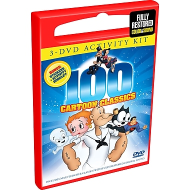 100 Cartoon Classics (DVD)