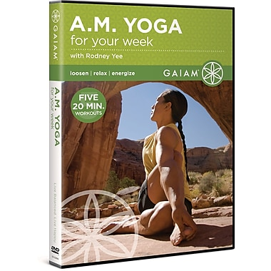 A.M. Yoga for Your Week with Rodney Yee (GAIAM MEDIA)