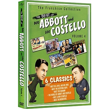 Abbott & Costello : Volume 4 (DVD)