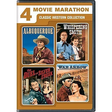 Albuquerque/Whispering Smith/The Duel at Silver Creek/War Arrow (DVD)