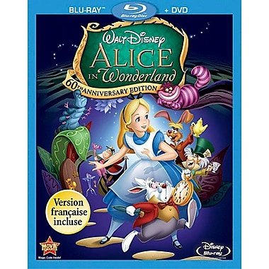 Alice In Wonderland (Animated) (BRD + DVD)