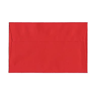 JAM Paper® A9 Invitation Envelopes, 5.75 x 8.75, Brite Hue Red Recycled, 1000/Pack (14257B)