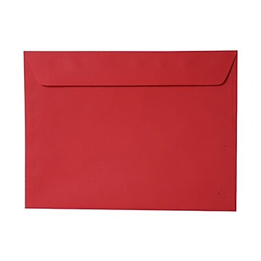 JAM Paper® Smooth Booklet Brite Hue Recycled Envelopes, 9