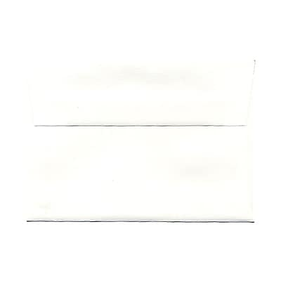 JAM Paper® 4bar A1 Envelopes, 3 5/8 x 5 1/8, Strathmore Bright White Wove, 25/pack (900928601)