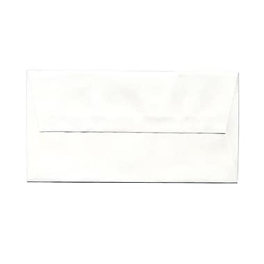 JAM Paper® Monarch Envelopes, 3.88 x 7.5, Strathmore Bright White Wove, 100/Pack (196556g)