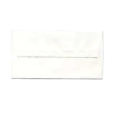 JAM Paper® Monarch Envelopes, 3 7/8 x 7 1/2, Strathmore Bright White Wove, 1000/carton (0196556B)