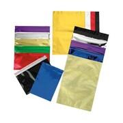 JAM Paper® #10 Foil Envelopes with Self Adhesive Closure, 4 1/8 x 9 1/2, Blue, 25/pack (1327705)