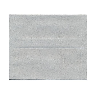 JAM Paper® A2 Invitation Envelopes, 4.38 x 5.75, Granite Grey Recycled, 1000/Pack (CPST605B)
