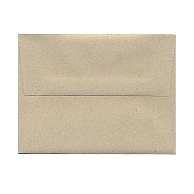 JAM Paper® A2 Invitation Envelopes, 4 3/8 x 5 3/4, Sandstone Ivory Recycled, 25/pack (71144)