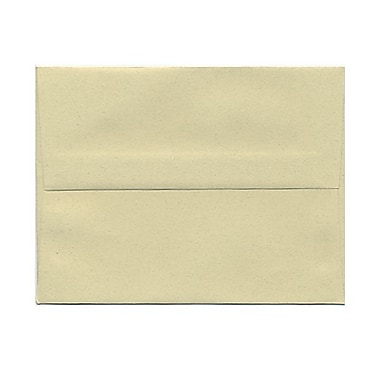 JAM Paper® A2 Invitation Envelopes, 4.38 x 5.75, Gypsum Recycled, 1000/Pack (41338B)