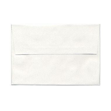 JAM Paper® A8 Invitation Envelopes, 5.5 x 8.125, Talc White Recycled, 21000/Pack (36670B)