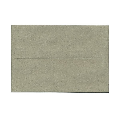 JAM Paper® A8 Invitation Envelopes, 5.5 x 8.125, Sage Green Recycled, 25/pack (49181)