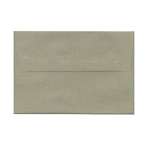 JAM Paper® A8 Passport Invitation Envelopes, 5.5 x 8.125, Sage Green Recycled, 25/Pack (49181)