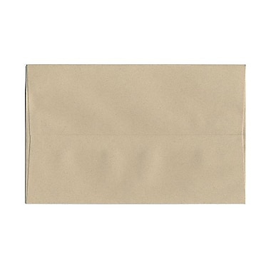 JAM Paper® A10 Invitation Envelopes, 6 x 9.5, Sandstone Ivory Recycled, 100/Pack (83736g)